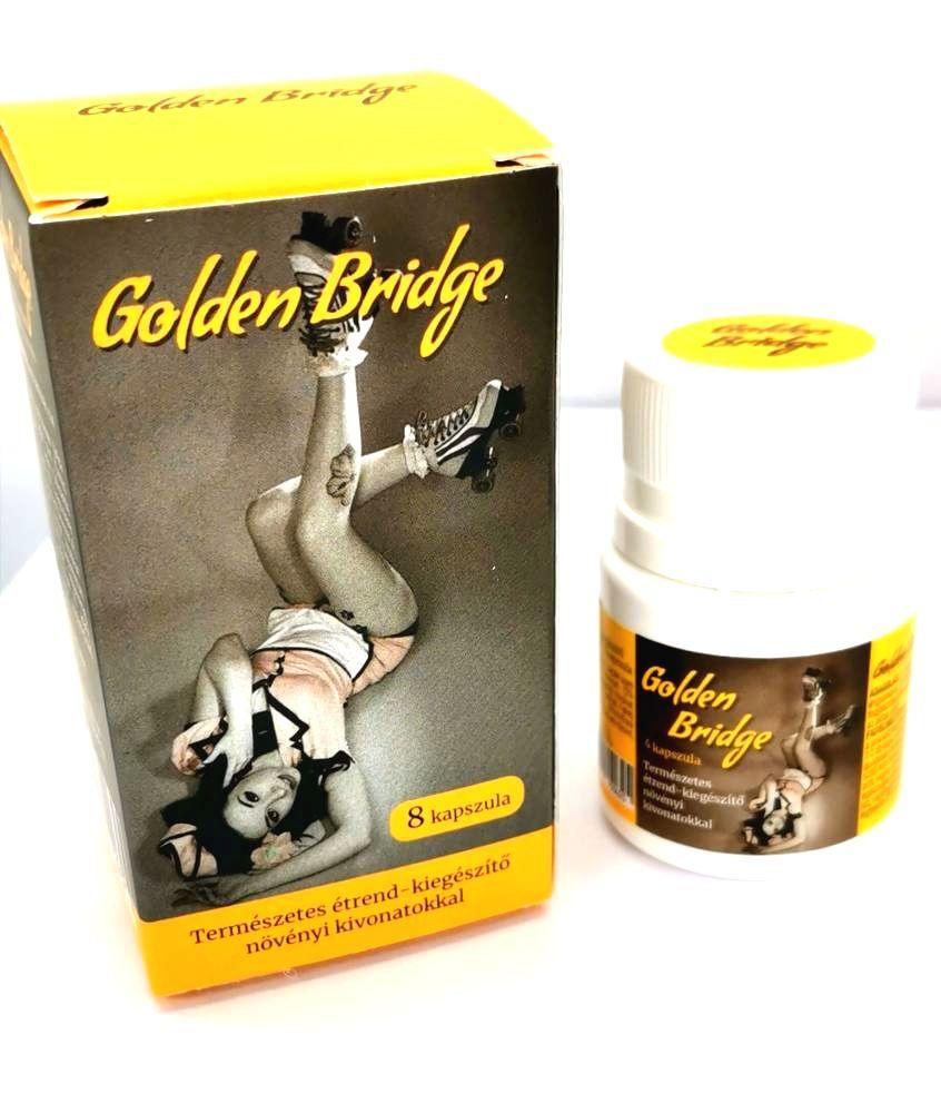 Golden Bridge For Men prírodný výživový doplnok s rastlinnými výťažkami (8ks)