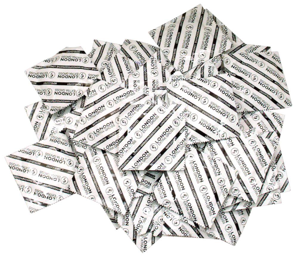 Extra veľký kondóm (100 ks)