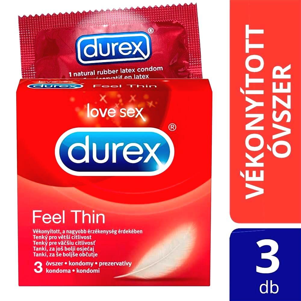 Feel Thin - kondómy s realistickým pocitom (3ks)