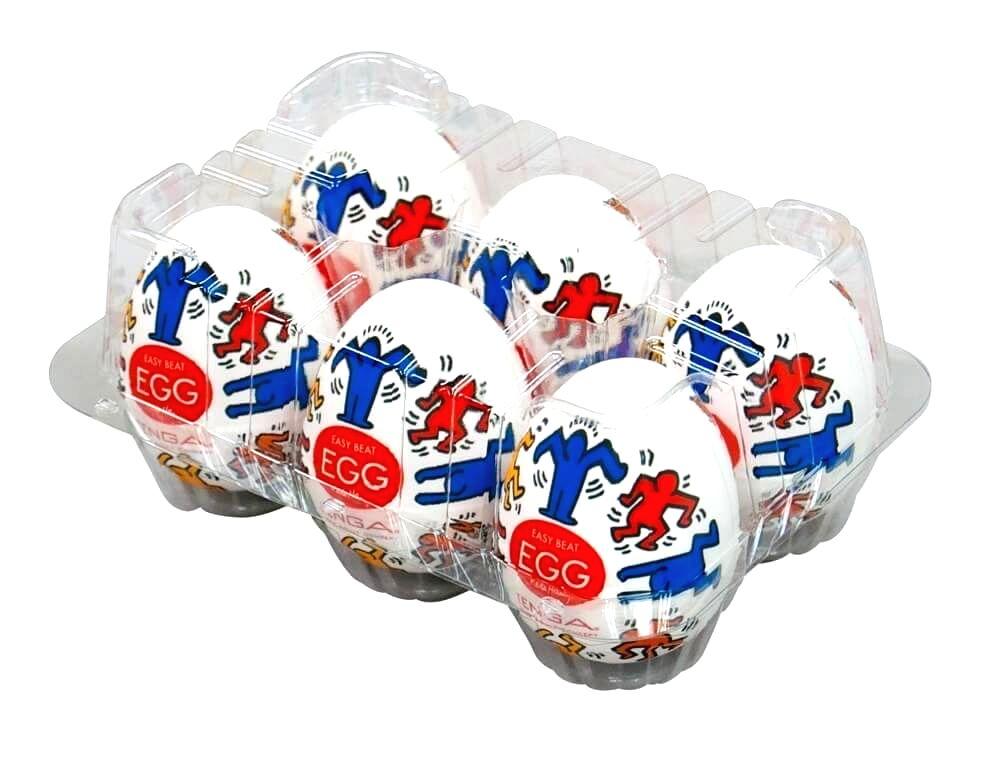Egg Keith Haring Dance výber (6ks)