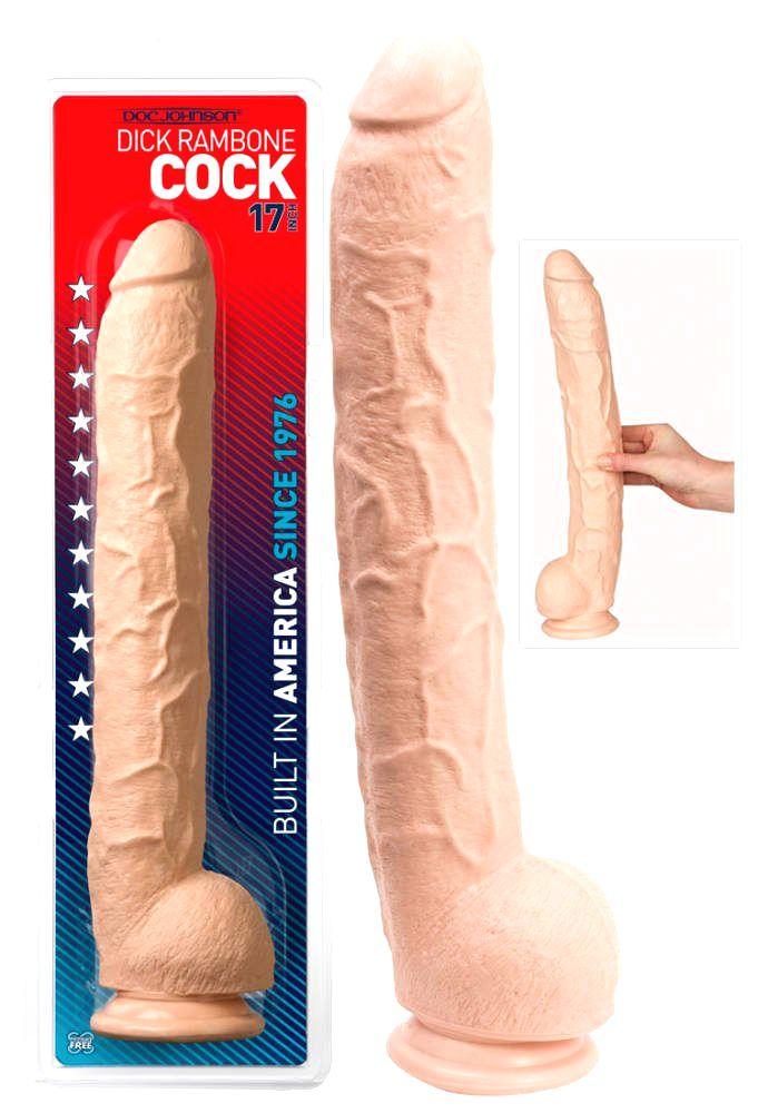 Dick Rambone - realistické dildo (42 cm)