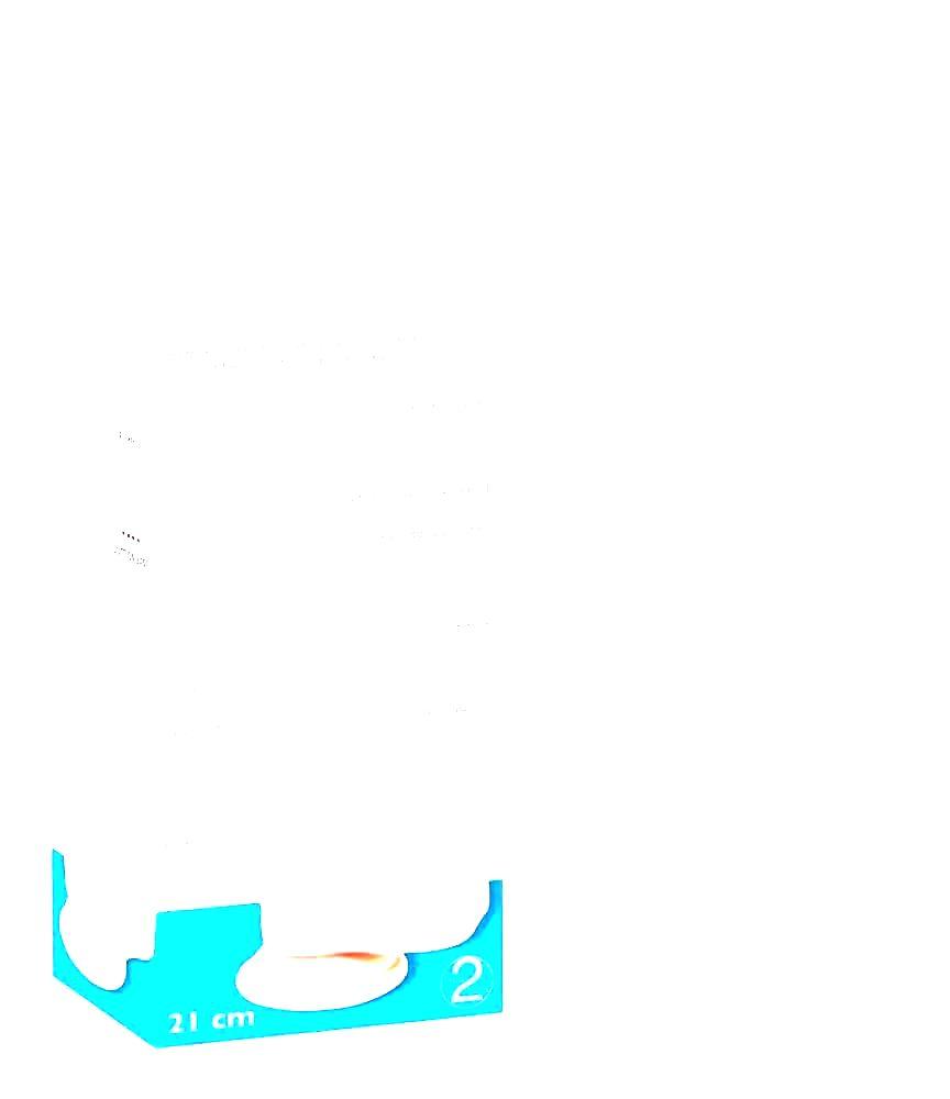 Medical - dildo z lekárskeho silikónu (21 cm) - prírodná farba