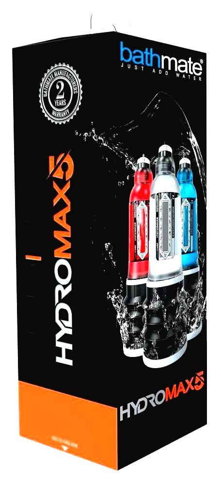 Hydromax5 - hydropumpa (áttetsző)