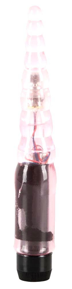 Mini Temptation Pink - gelový mini vibrátor ružový (13