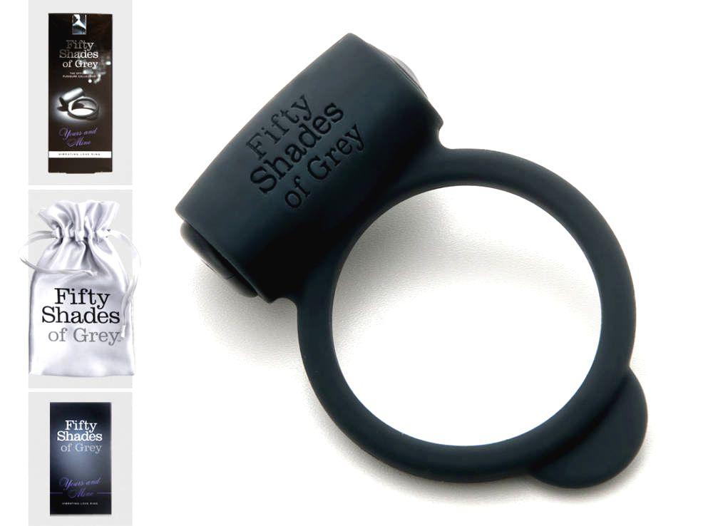 Fifty Shades og Grey Yours and Mine - vibračný krúžok na penis