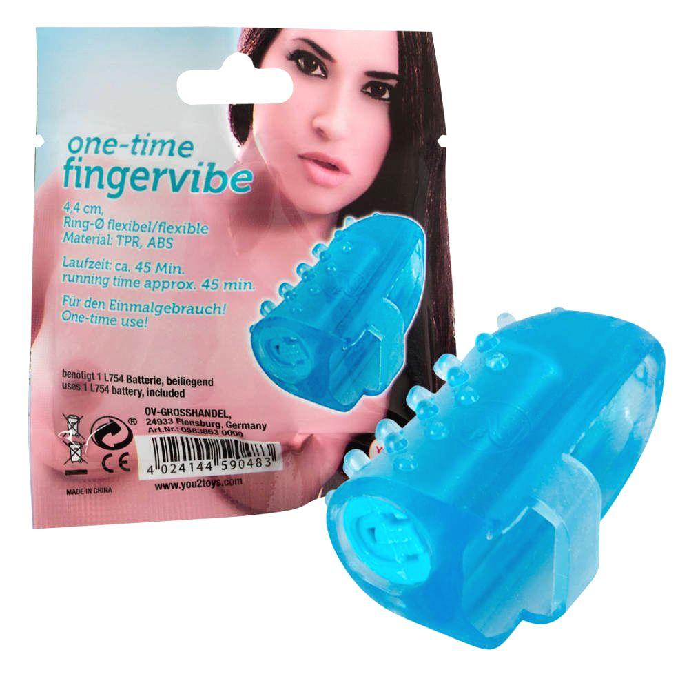 One Time Fingervibe - jednorázový prstový vibrátor