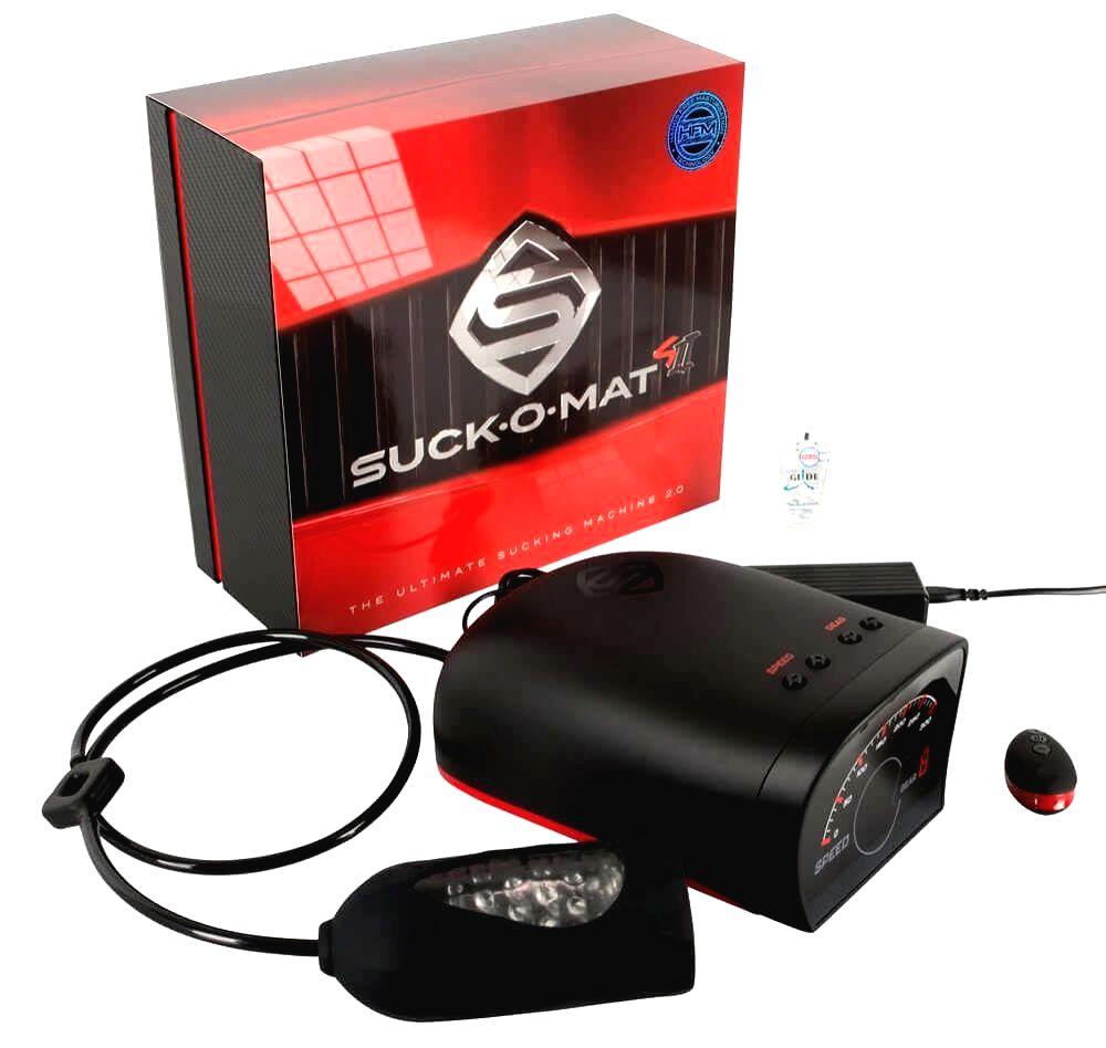 Suck-O-Mat 2.0 sieťový super sací masturbátor na diaľkové ovládanie