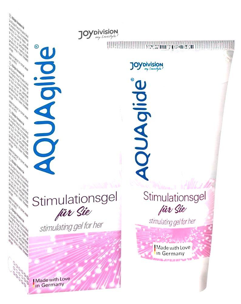 JoyDivision AquaAglide Stimulation gel - intímný gél pre ženy (25ml)