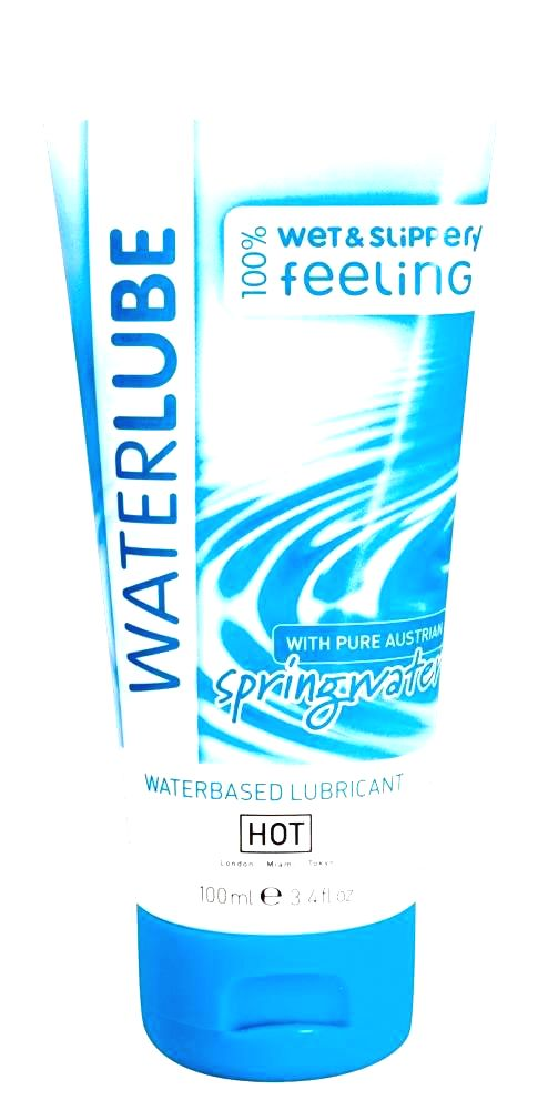WaterLube Sensitive - lubrikant na báze vody z Álp (100ml)