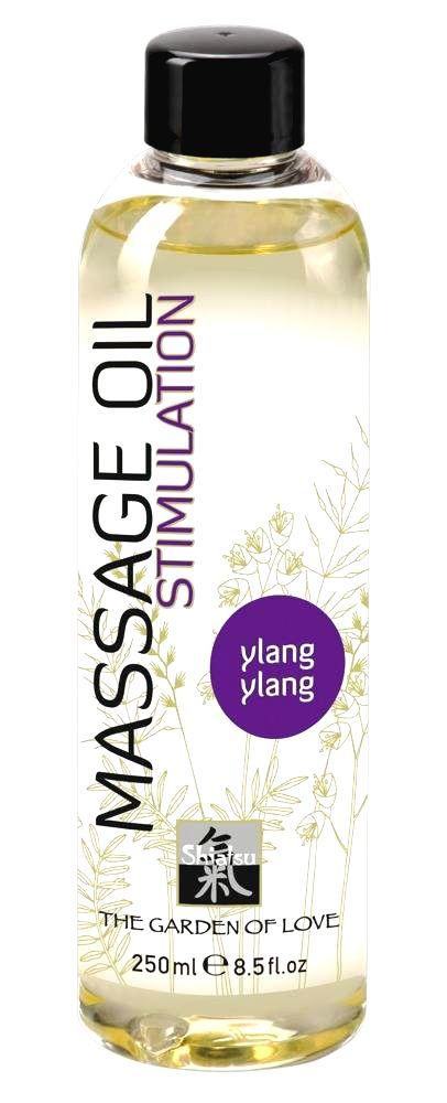 Shiatsu Massage Oil Stimulation Ylang Ylang  - masážny olej  (250ml)
