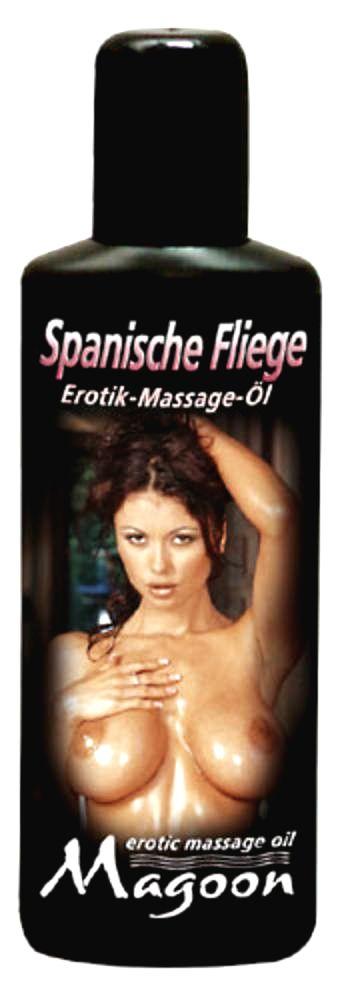 Spanische Fliege - masážny olej s vášnivou vôňou (100ml)