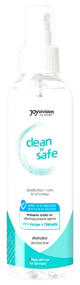 Clean Safe - Joydivision čistiaci prostriedok na erotické pomôcky (200ml)
