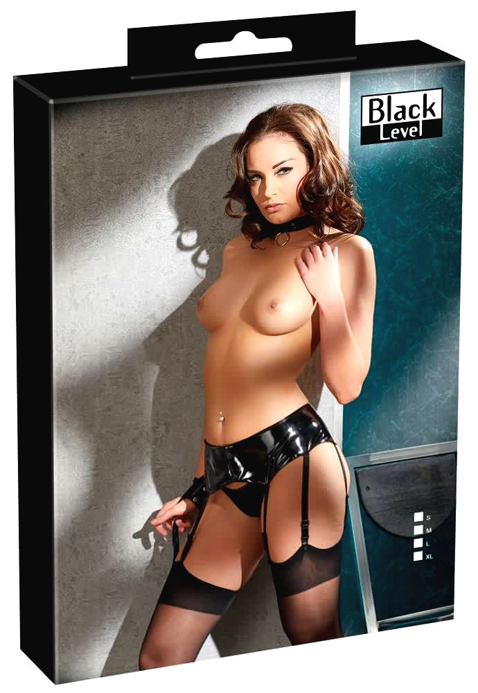 Vinyl Suspender Belt