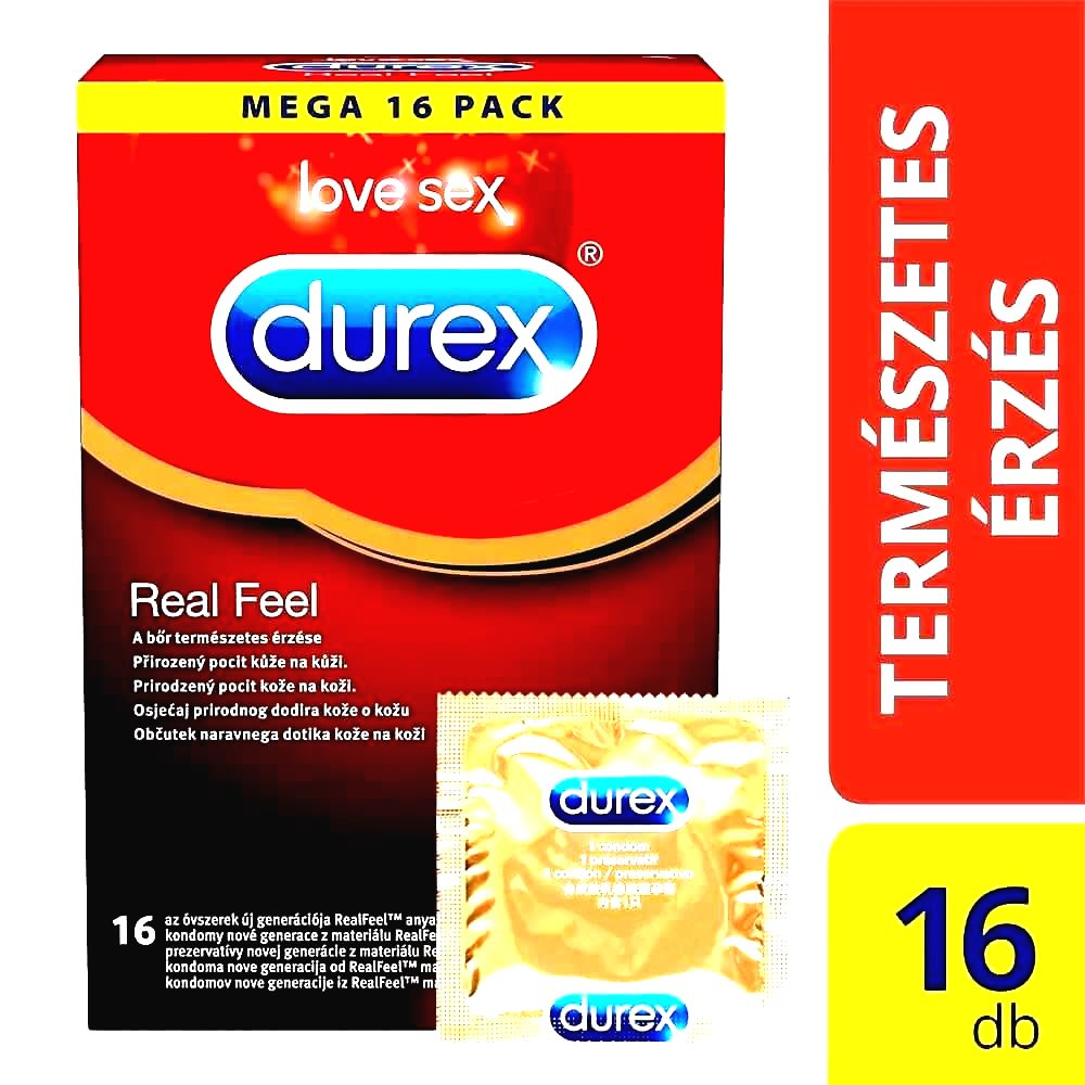 Real Feel – bezlatexové kondómy (16ks)