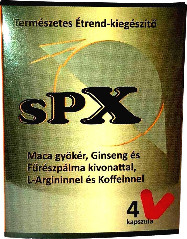 SPX prírodný výživový doplnok pre mužov (4ks)