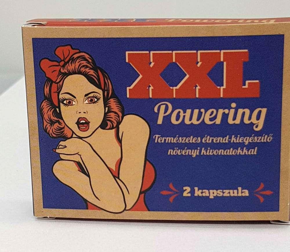 XXL Powering prírodný výživový doplnok pre mužov (2ks)