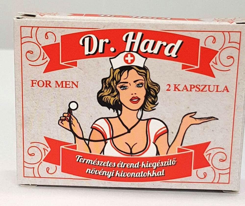 Dr. Hard for men prírodný výživový doplnok pre mužov (2ks)