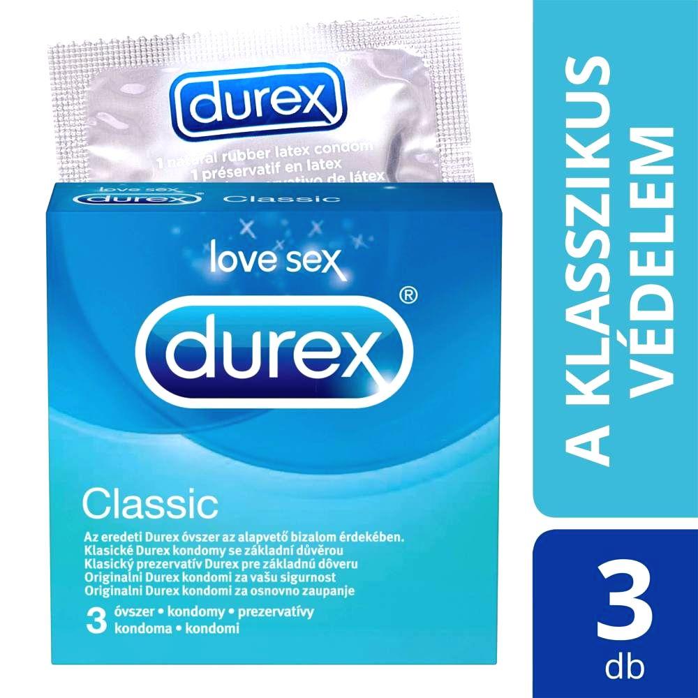 Classic - kondómy (3ks)