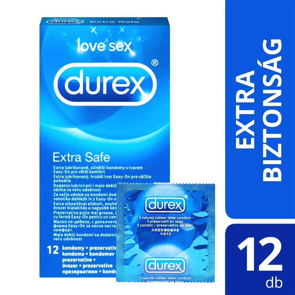 Extra safe - bezpečný kondóm (12ks)