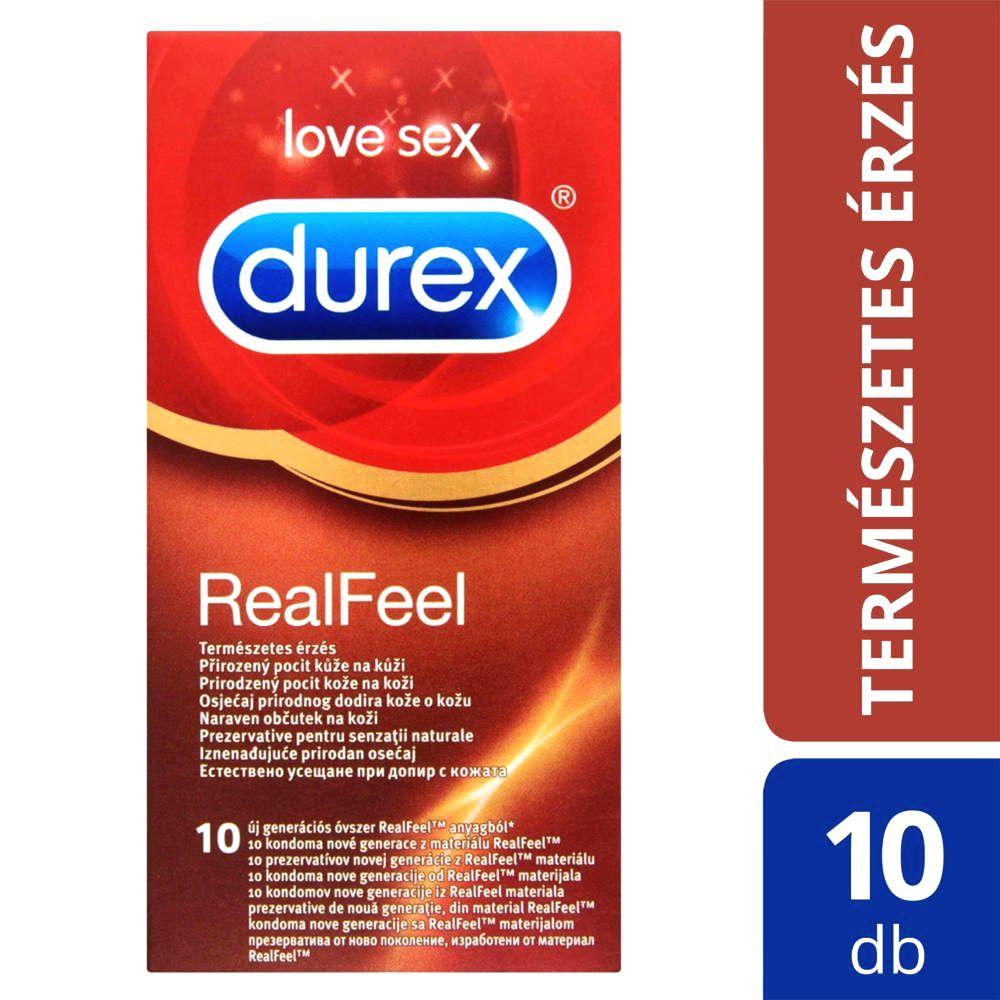 Real Feel - bezlatexové kondómy (10 ks)