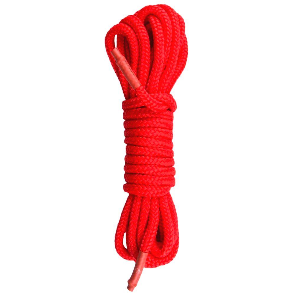 Easytoys Rope bondage lano (10m) červené