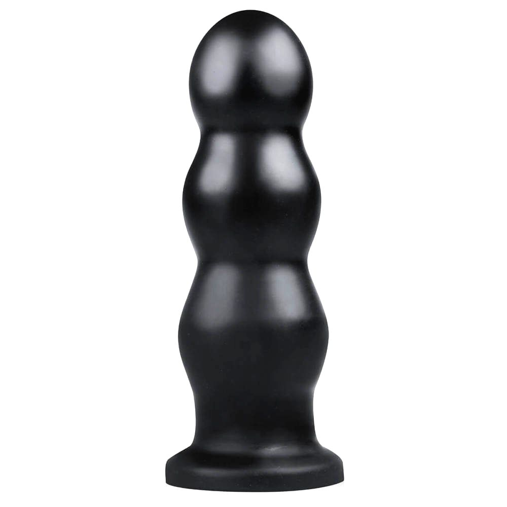 BUTTR Tactical III dildo s prísavkou (čierne)