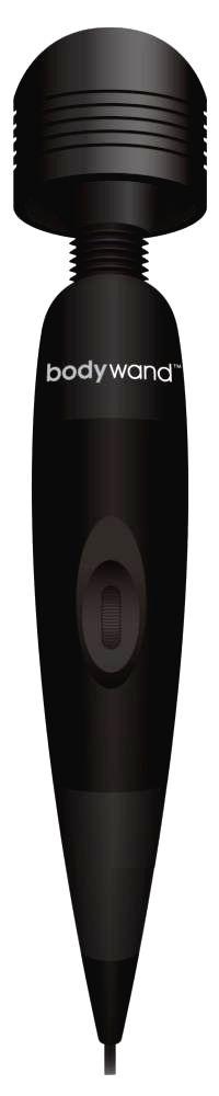 Midnight - masážny vibrátor na sieťové napájanie (čierny)