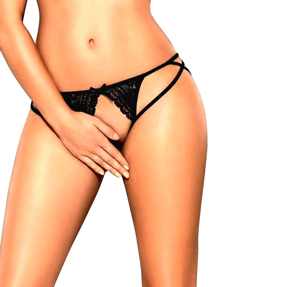 OBSESSIVE PICANTINA CROTCHLESS THONG LXL