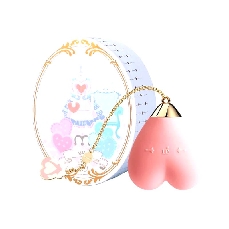 BABY HEART PERSONAL MASSAGER STRAWBERRY PINK