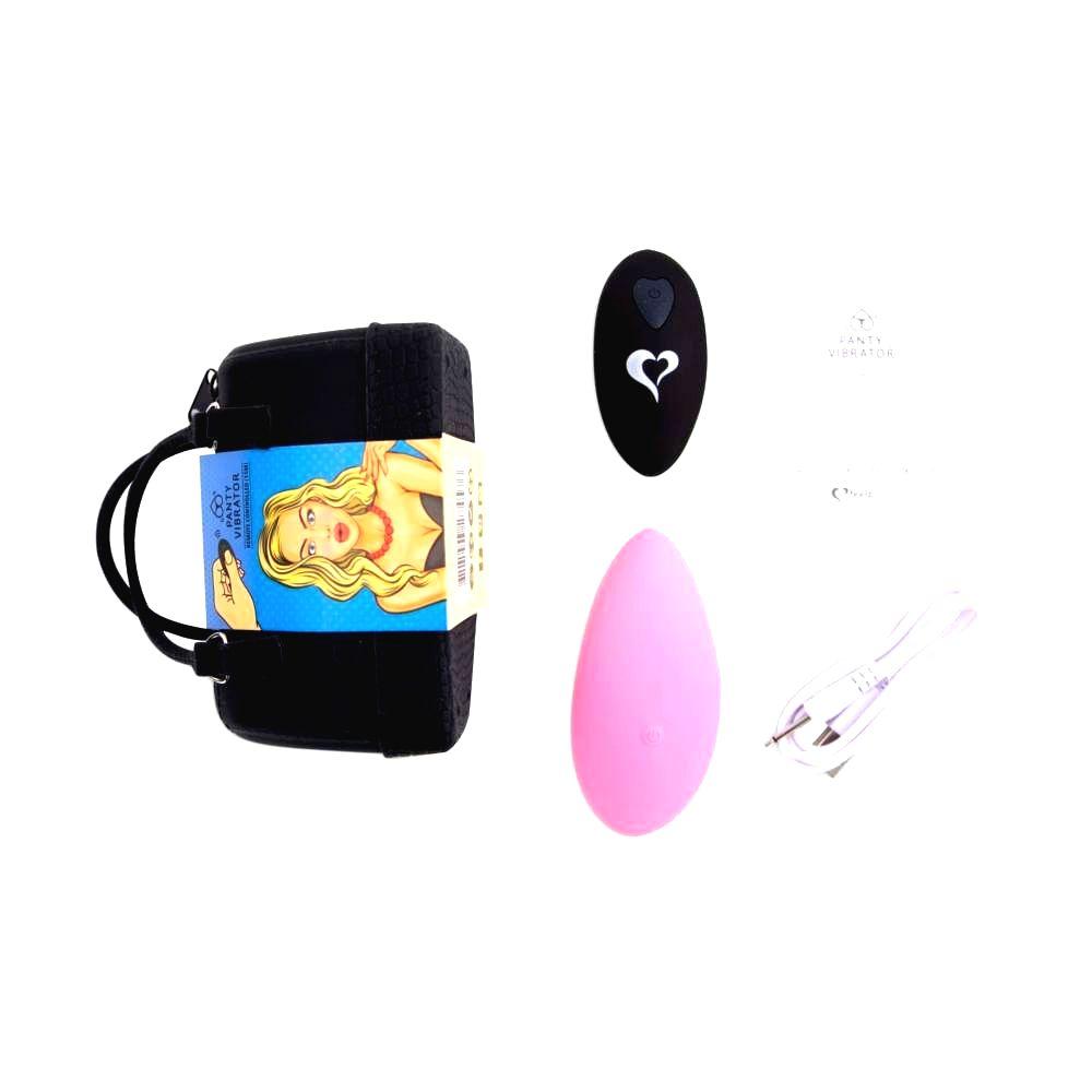FEELZTOYS Panty nabíjací vibrátor na klitoris s diaľkovým ovládačom (ružový)