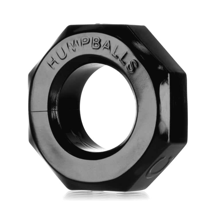 Humpballs - extra silný krúžok na penis (čierny)
