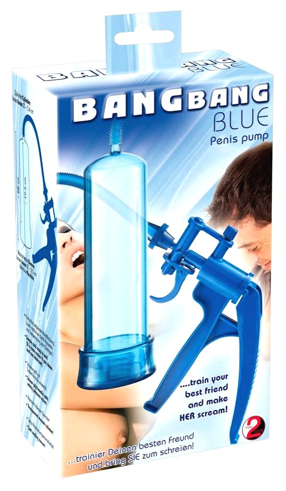 You2toys Bang BangScissor Penis Pump (Blue)
