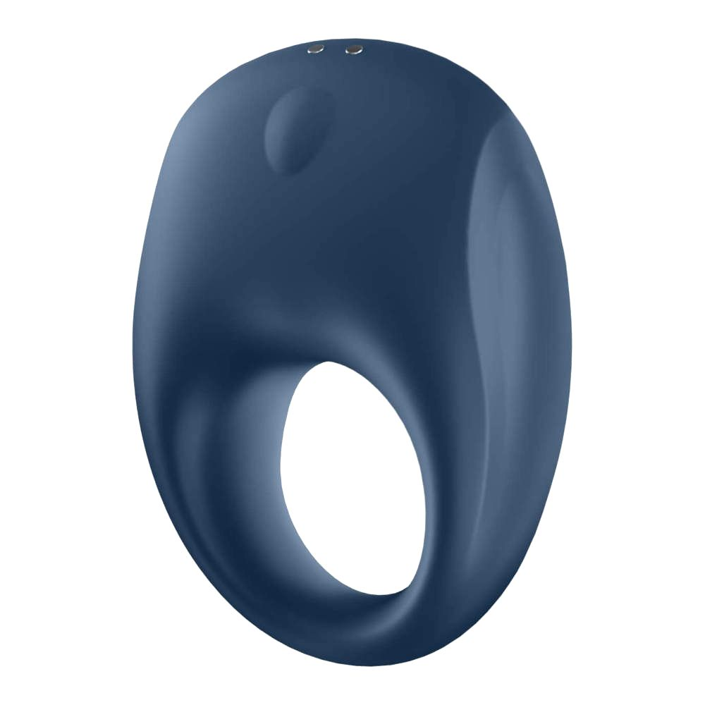 Satisfyer Strong One penis ring (blue)