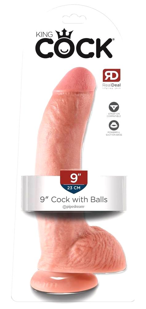 King Cock 9 large suction foot