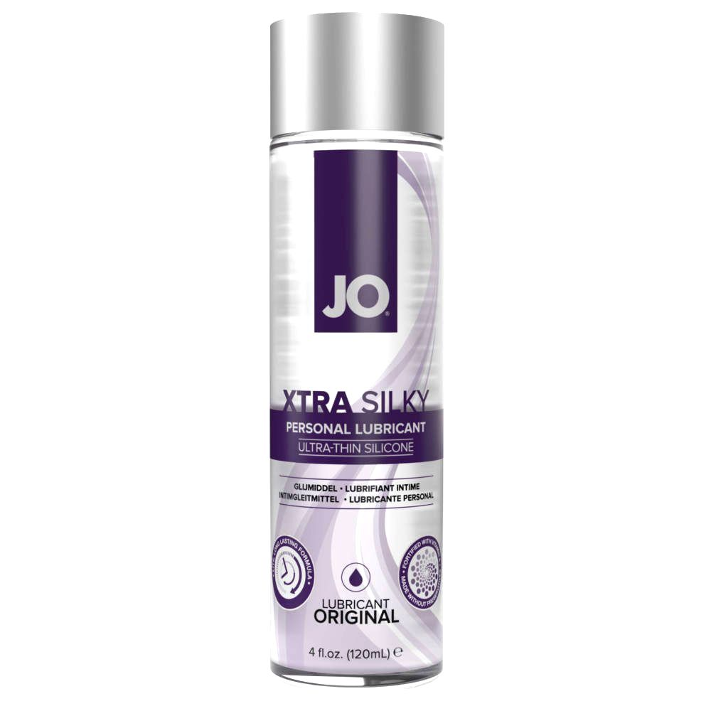 SYSTEM JO XTRA SILKY THIN SILICONE LUBRICANT 120 ML
