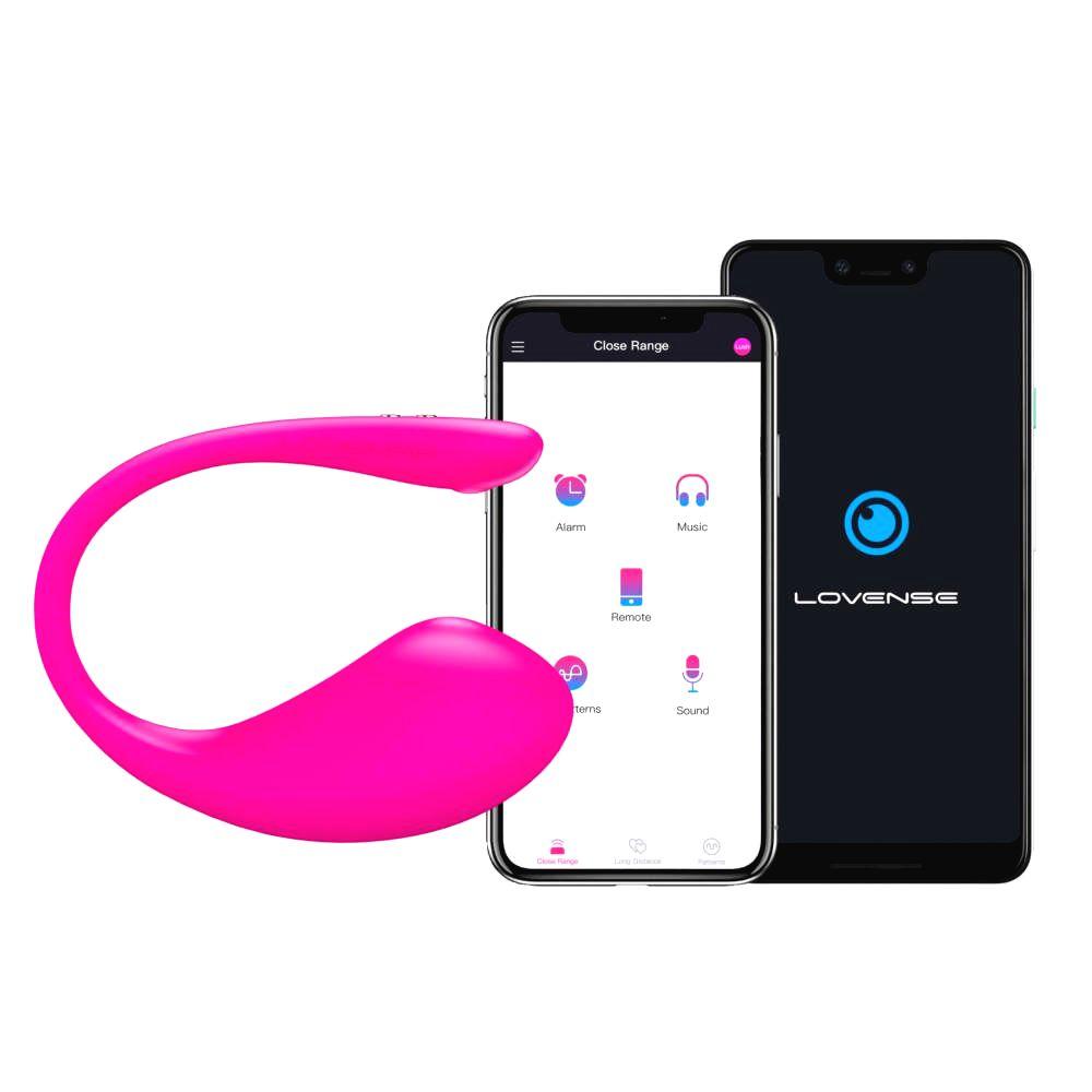 Lovense lush 3 nabíjacie smart vibračné vajíčko (ružové)