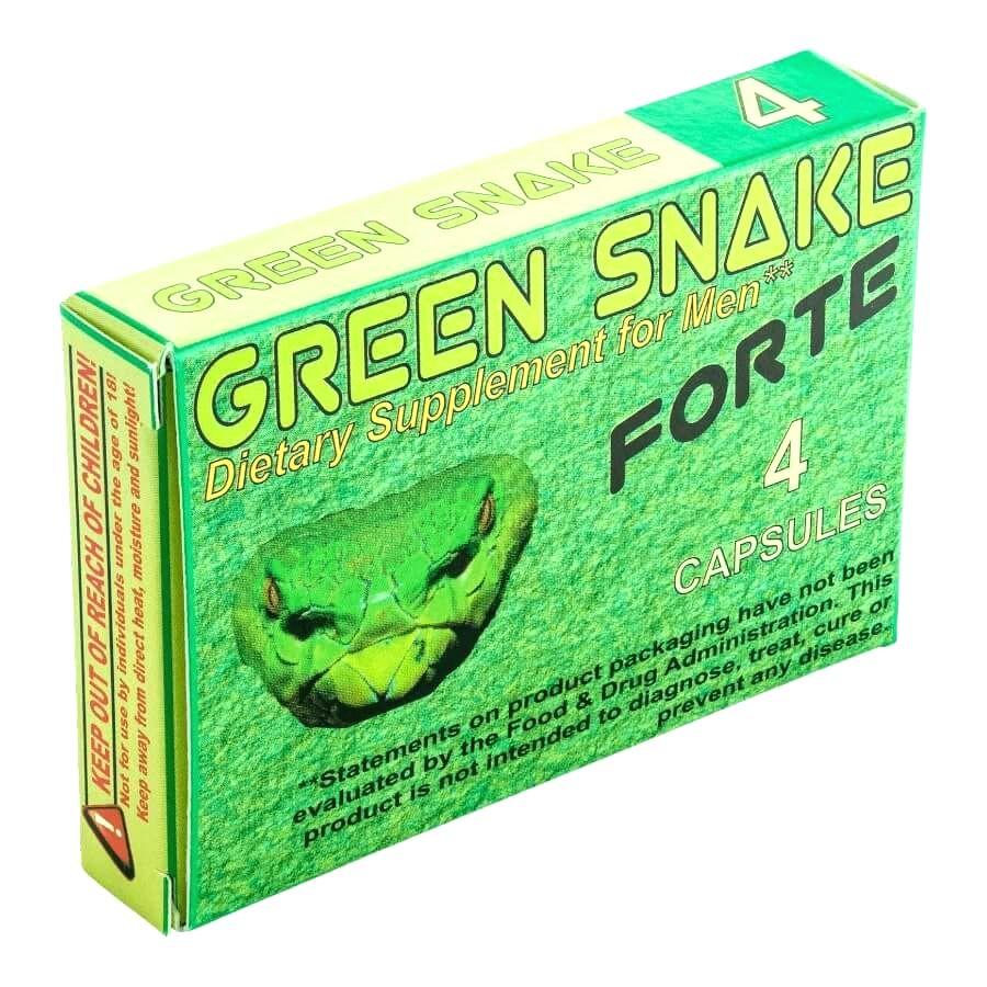 Green Snake Forte 6 pcs