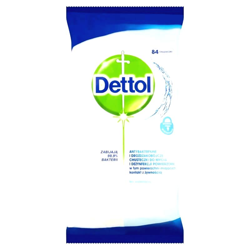 Dettol antibacterial surface cleaning cloth (84pcs)