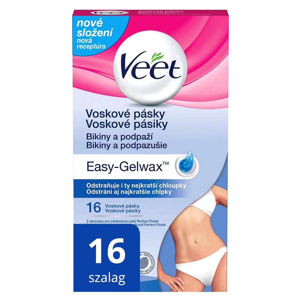 Veet Easy Strip cold resin tapes for armpits (16pcs)