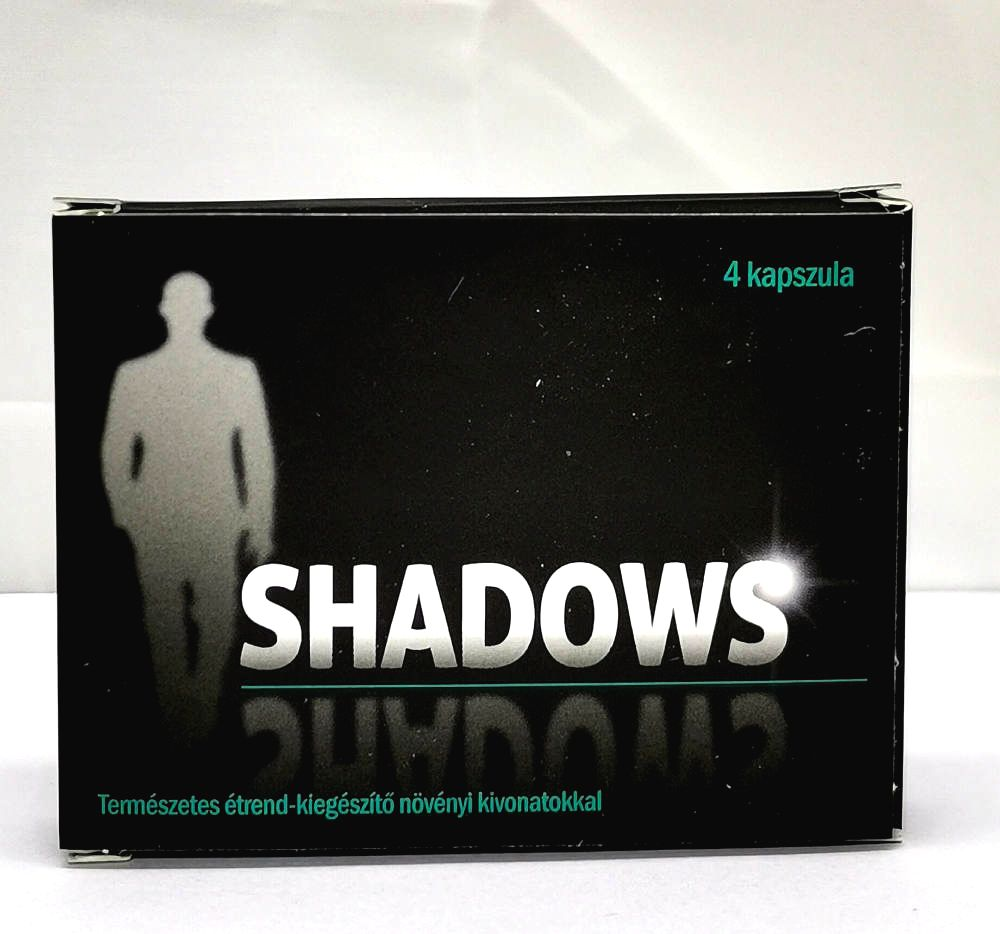 Shadows natural dietary supplement for men (4pcs)