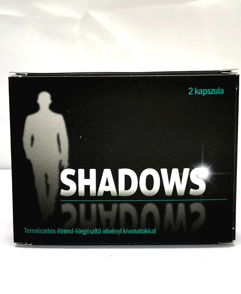 Shadows natural dietary supplement for men (2pcs)