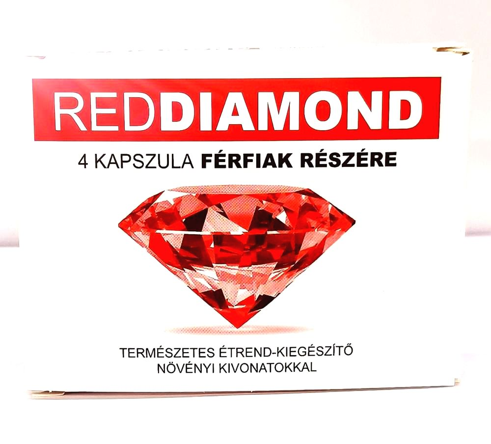 Red Diamond natural dietary supplement for men (4pcs)
