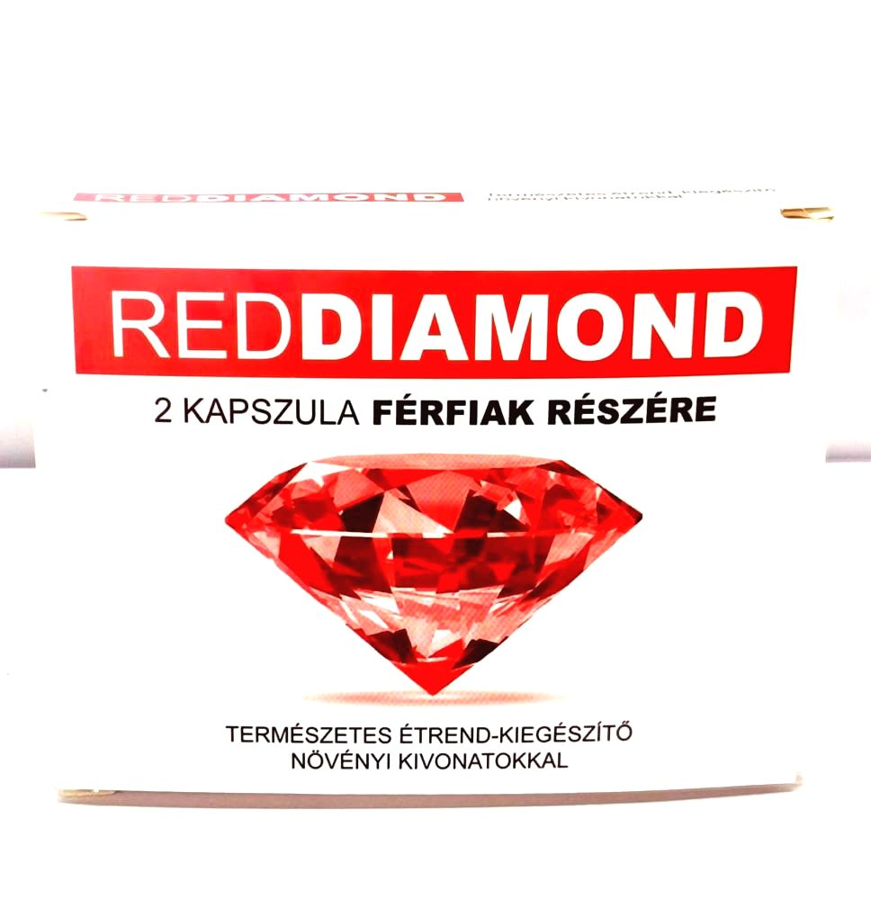 Red Diamond natural dietary supplement for men (2pcs)