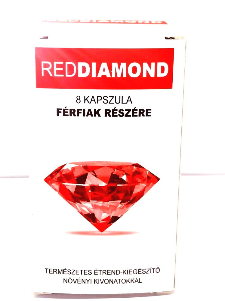 Red Diamond natural dietary supplement for men (8pcs)