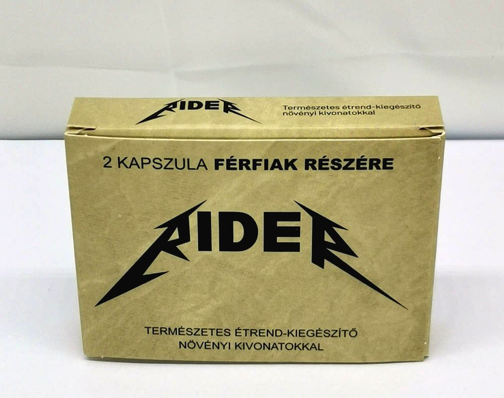 Rider natural dietary supplement for men (2pcs)
