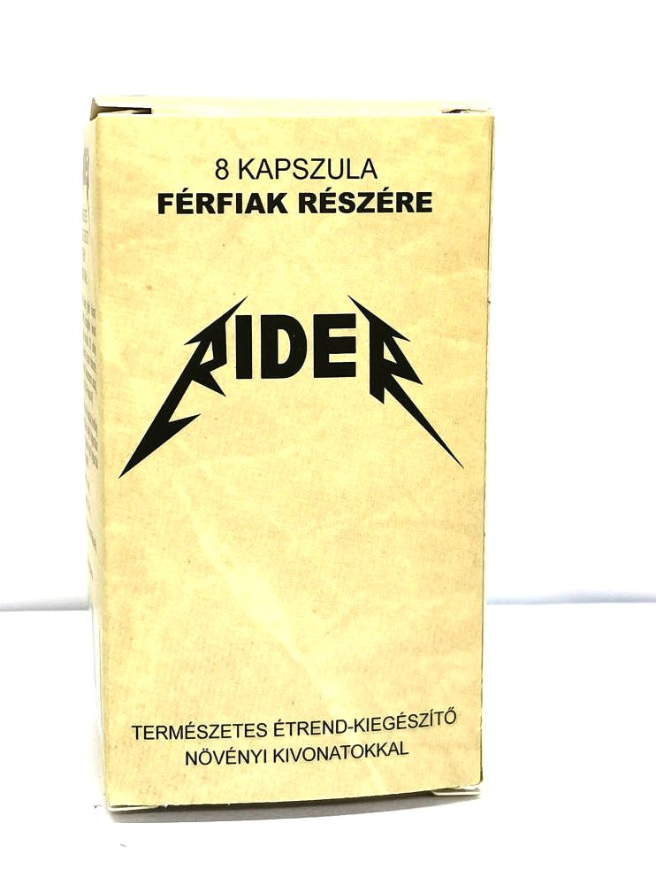 Rider natural dietary supplement for men (8pcs)